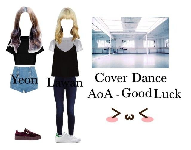 """""""Cover Dance"""" by official-icekiss ❤ liked on Polyvore featuring Related, Raey, Pierre Balmain and Puma"""