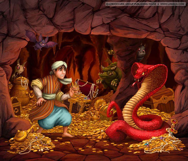 Драконы-анимашки - картинки с изображением Змеи - символом нового года