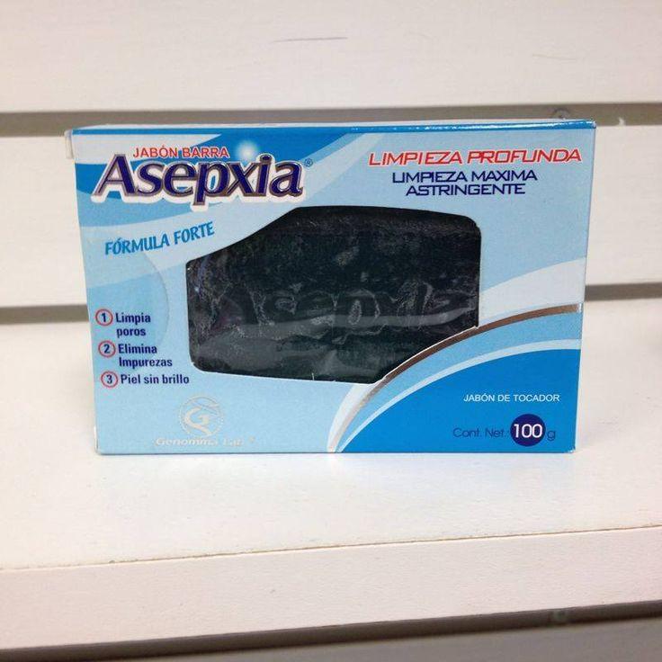 Jabon Asepxia Forte, limpieza astringente que remueve células muertas. permite eliminar la grasa y mantiene tu piel realmente limpia y sin imperfecciones.