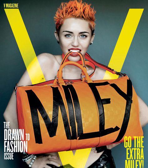 Майли Сайрус приносит Sexy в V Magazine - Майли Сайрус для журнала V