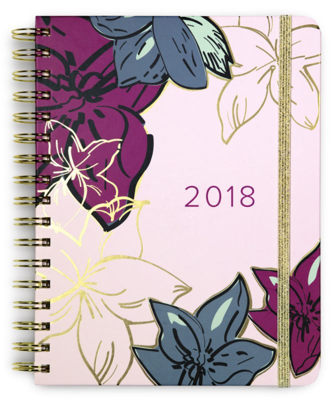 Vera Bradley 17 Month Planner - Falling Flowers Neutral