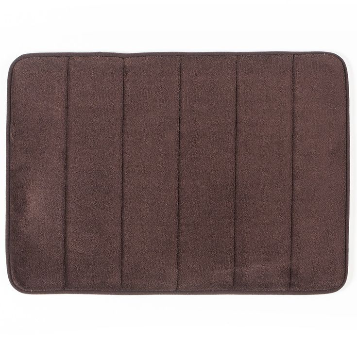 PHILIP Memory Foam Bathmat (Brown)
