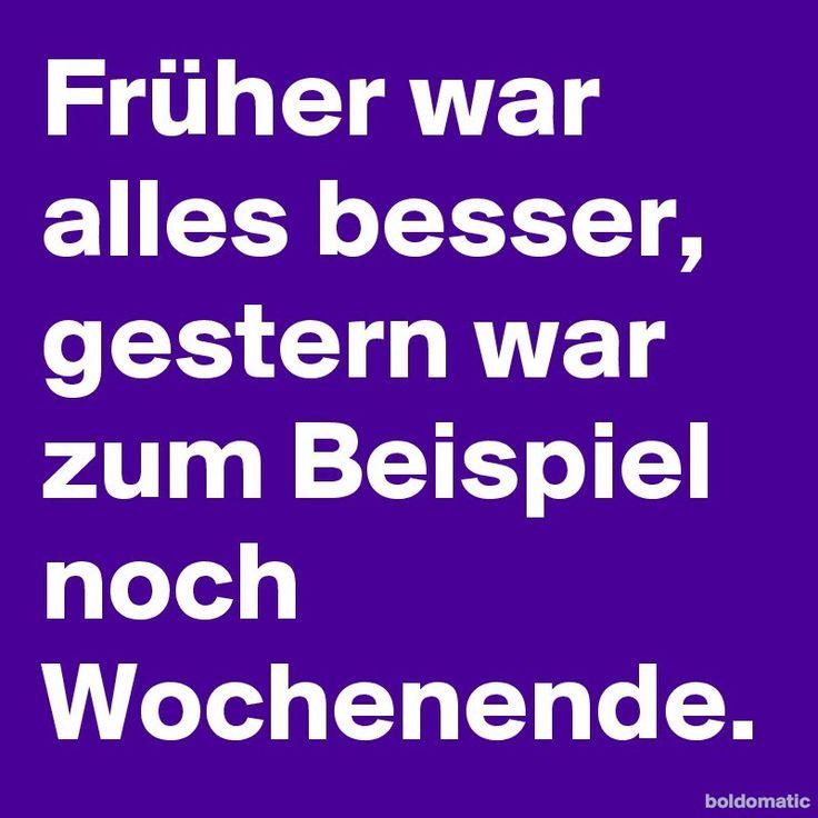 #Boldomatic #Wochenende #Aufstehen #Sprüche #Quote #Deutsch