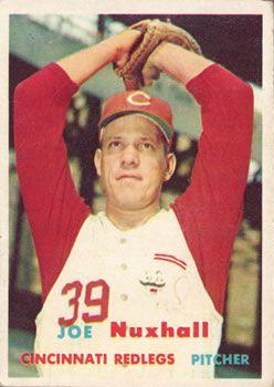 103 - Joe Nuxhall - Cincinnati Reds