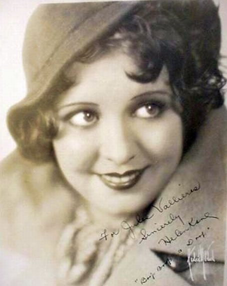 Helen Kane---the real Betty Boop. She was the inspiration for the cute Betty Boop cartoons.