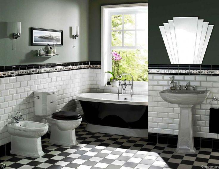 Art Deco Bathroom Ideas Best Art Deco Bathroom Ideas On