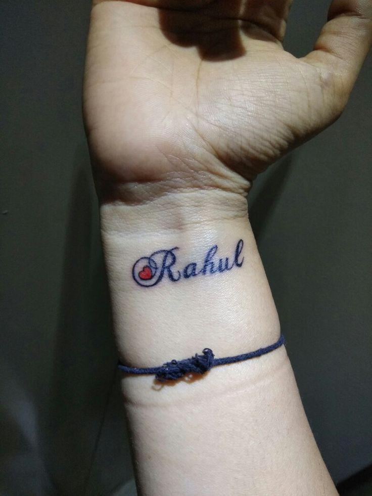 Hand tattoo...