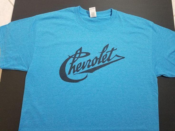 NEW CHEVY CHEVROLET VINTAGE script T-SHIRT V8  logo emblem nos conv logo c10  #engine409327350575bigblocksmallcovercase