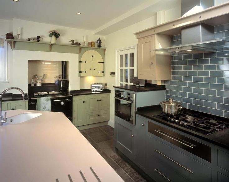 Bespoke English Eclectic Kitchens at Moore & Bradfield
