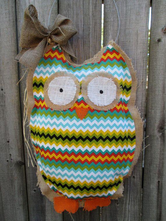 17 Best Images About Burlap On Pinterest Burlap Owl