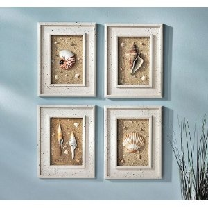 Sea Shell Shadow Boxes Sea Life Bathroom