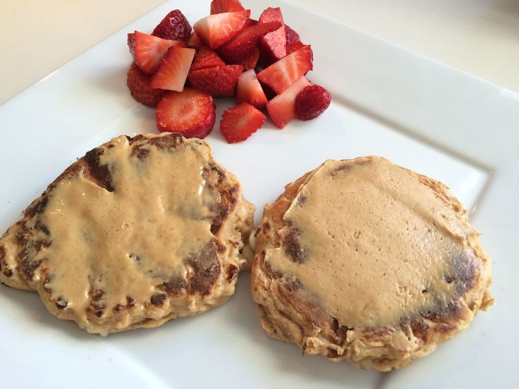 Delicious and healthy protein pancakes!!