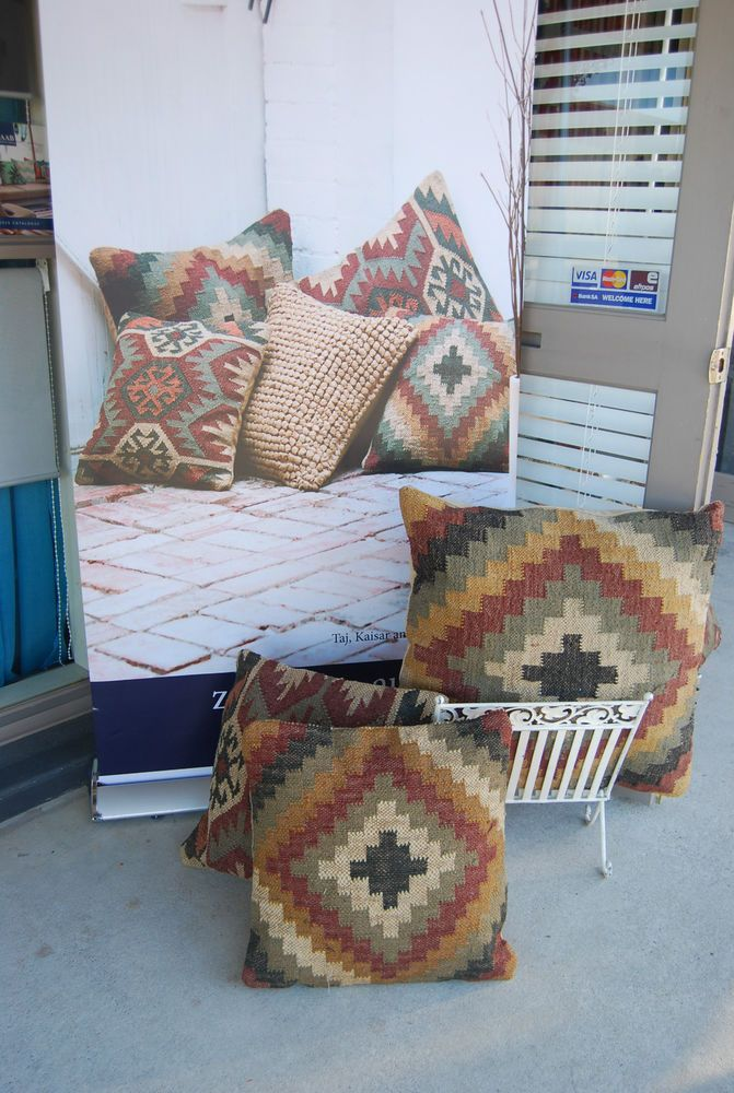 Zaab Homeware Cushion by Basford Brands -KAISAR -Morroccan Earthy Look