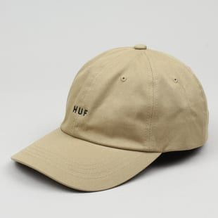 Kšiltovka Huf Original Logo Curved Brim Cap béžová UNI