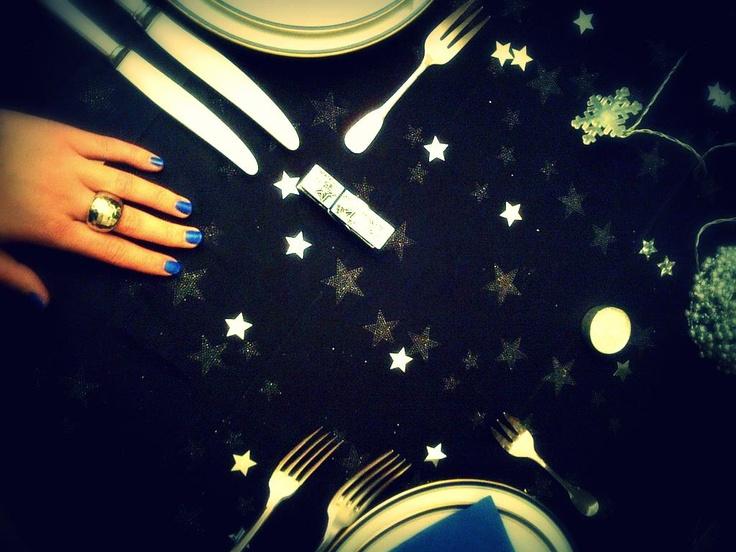 Une jolie table de Noël