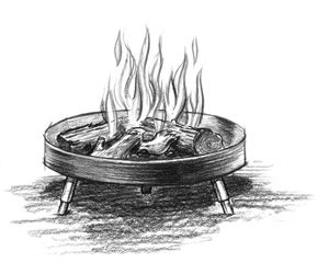 As girls learn how to build campfires they can apply the Leave No Trace principle of Minimize Campfire Impacts.  Share with girls working on their Camper badge.