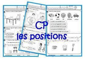 IPOTÂME ....TÂME: Géométrie CP : les positions