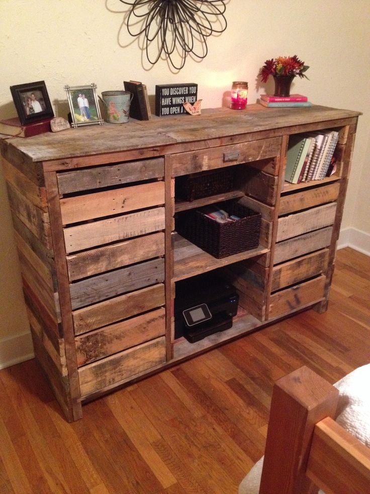 Wood Table Dresser ~ Best ideas about pallet dresser on pinterest diy
