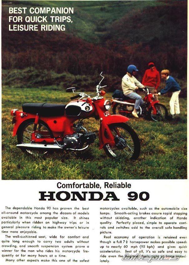 1964 Honda 90 C200