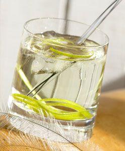 Cocktail Kangourou avec du vermouth ou du Martini blanc
