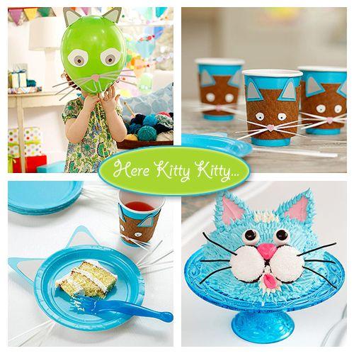 Cat theme party