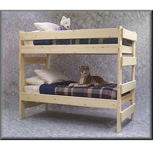The Premier All Sizes Solid Wood Bunk Bed