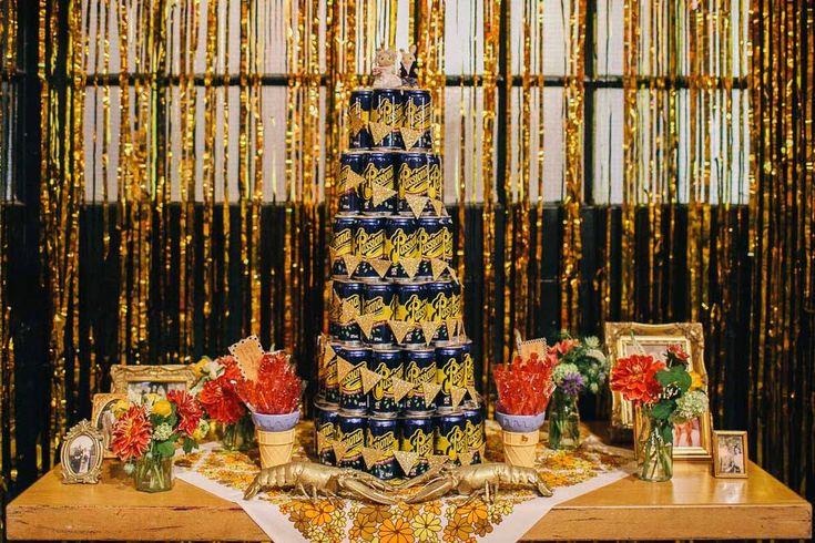 Unusual wedding cake and wedding dessert ideas