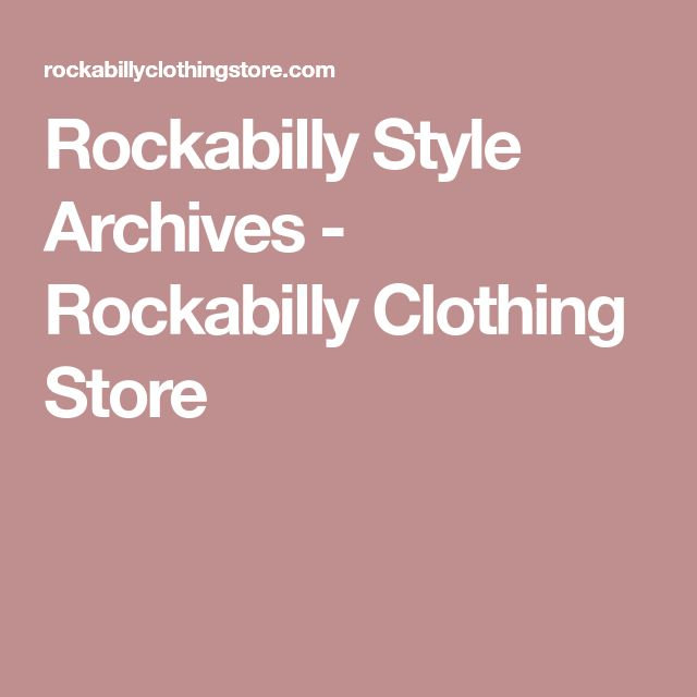 Rockabilly Style Archives - Rockabilly Clothing Store