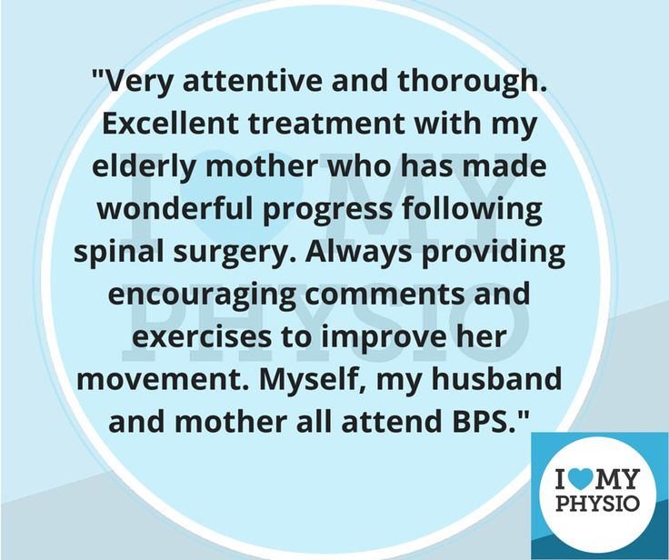 We love our BPS Tensegrity Physio!