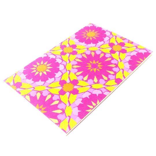 Boho Notebook-£3 #prettytwisted #boho #notebook #present http://prettytwistedonline.co.uk/product/boho-patterned-notebook-3/