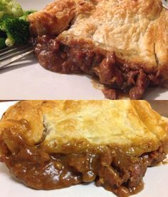 A Warm, Hearty meal for the whole family. Slow Cooked Chunky Steak Pie that comes out Golden Brown. Classic Aussie dish.