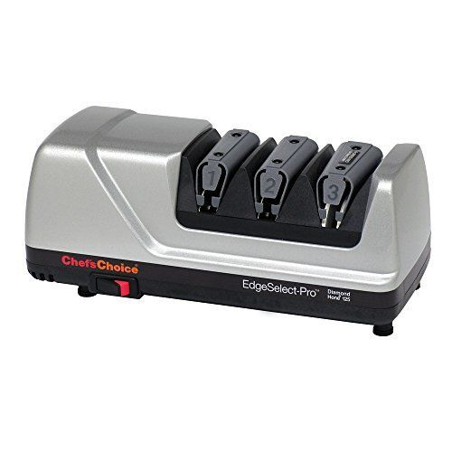 ChefsChoice M125 Professional 3 Stage Edge Select Electric Sharpener -- Read more  at the image link.