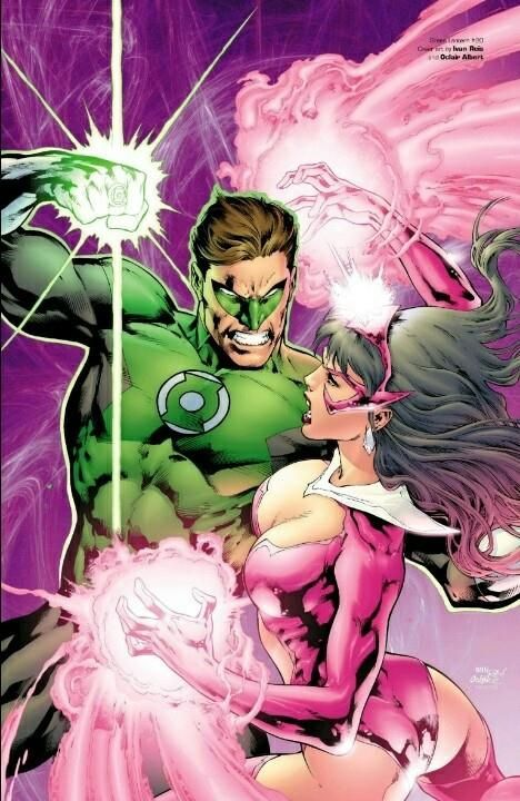 Green Lantern and Star Sapphire by Ivan Reis