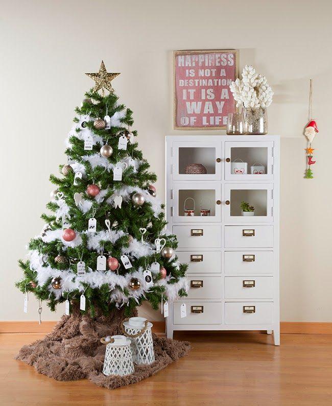 59 best ideas para decorar rbol de navidad images on pinterest xmas trees christmas deco and - Como decorar un arbol de navidad ...