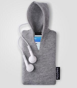 iPod Hoodie. Keep your iPod snug and cozy
