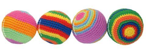 Tutorial: pelotas tejidas a crochet (amigurumi). Lindas y coloridas...!!! Aprovechen todos sus restos de lanas para tejer estas suaves pelotitas!!