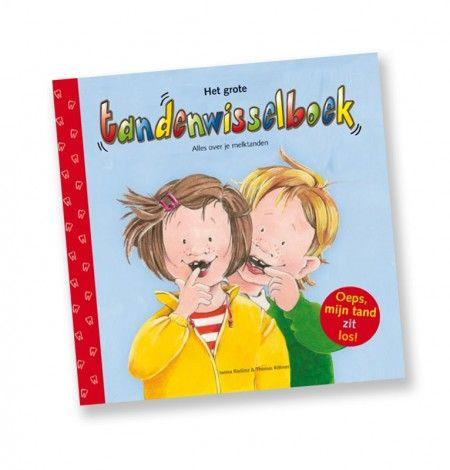 Het grote tandenwisselboek, met alle informatie over het wisselen van tanden. Geschikt vanaf 4 jaar tot ongeveer 12 jaar.