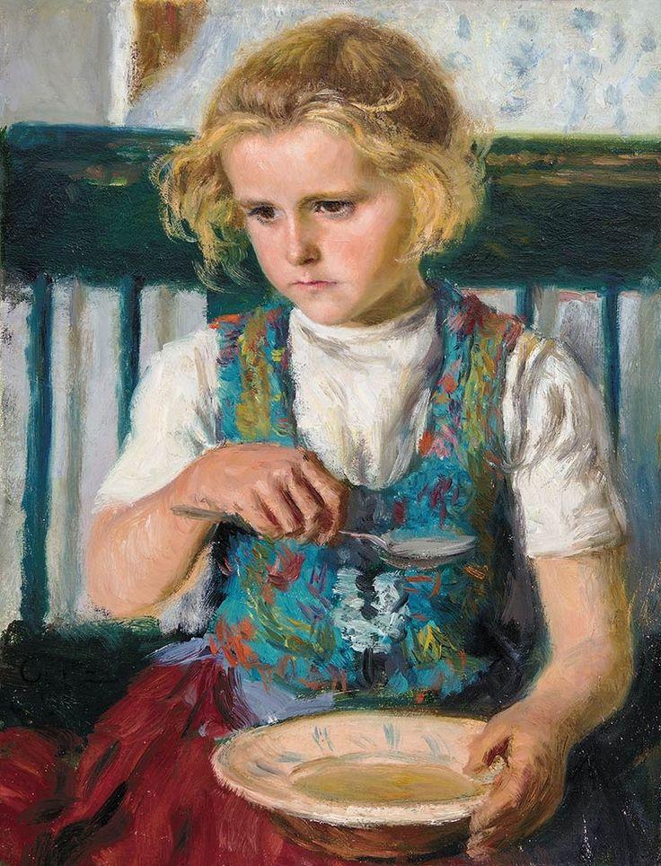 Glatz Oszkár: Bujáki kislány, 1937.