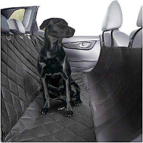 Plush Paws Ultra-Luxury Pet Seat Cover with Seat Anchors, 2 Harness, 2 Seat Belts for Cars Trucks & Suv Waterproof, Nonslip Silicone Backing -Reg Black - Incomparable Dog Car Seat Cover Plush Paws® is the ONLY Brand that offers TWO Bonus Pair of 1-Regular size 15-60 and 1- XL 60-100 pounds Harness with TWO Seat belts ABSOLUTELY FREE. Details & Benefits - Silicon Backing + Elastic straps for snug fit. Silicon is the best material for non-slip. Does...