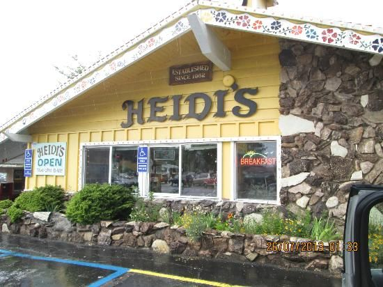 Heidi's Pancake House South Lake Tahoe. This is the best breakfast place in Tahoe!!! ❤️ it!!