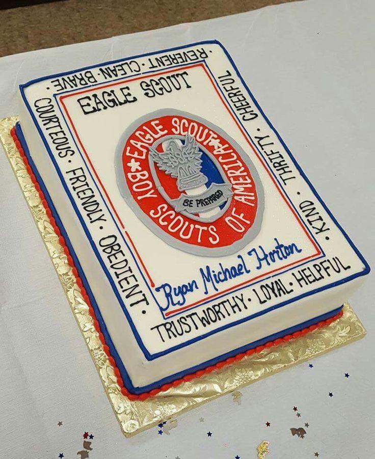 Eagle Scout celebration cake