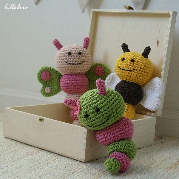 Bug rattles – pattern