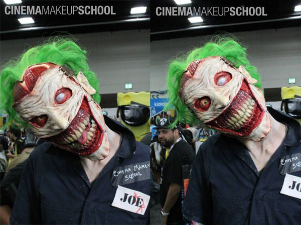 Obvious Winner - ow - This Incredible Joker Makeup / Face Prosthetic is the Stuff of Nightmares