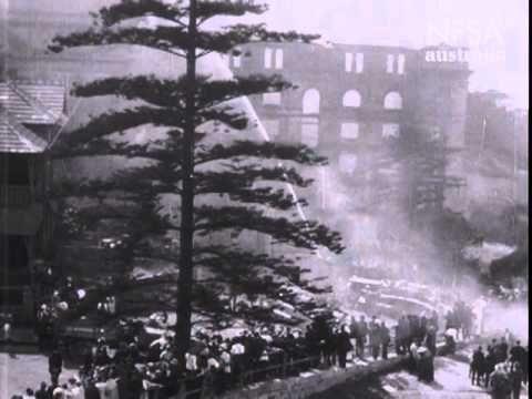 Martin Place - Sydney in the silent film era