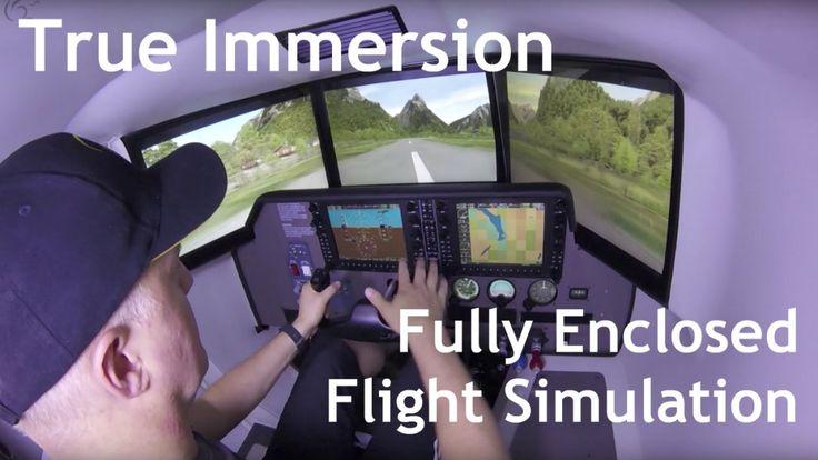 flygcforum.com ✈ FULL MOTION FLIGHT SIMULATORS ✈ OVO-04 C172 / C182RG Glass Cockpit (G1000) ✈