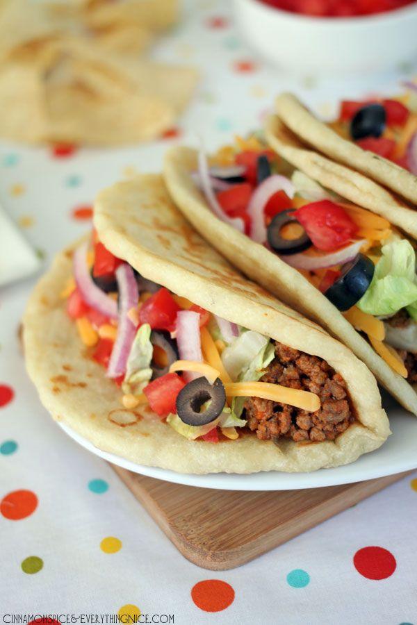 Homemade Taco Bell Gorditas