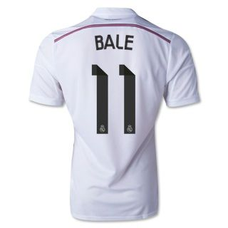 ... Mens Real Madrid Gareth Bale 11 White Home Soccer Jersey (US Size  Medium) Real Madrid Dames Shirt Uit 2016-2017 Ronaldo 7 adidas ... 960f8d4cd