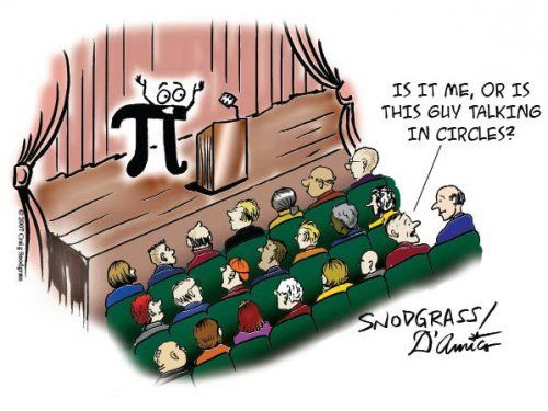 pi jokes | My favorite webcomics from Not So Humble Pi .