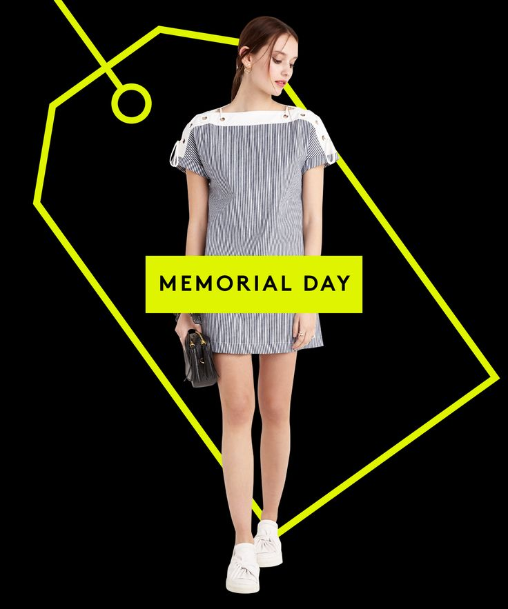 Memorial Day Sales 2016 Best Clothing Discounts | Memorial Day has arrived! Find all the sales you need to know about here. #refinery29 http://www.refinery29.com/2016/05/111994/memorial-day-sales-2016