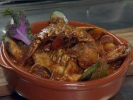Zaruela de Mariscos from CookingChannelTV.com Gloria Estefans recipe for Opera of Shellfish